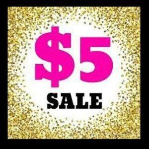 $5 sale!!!!!